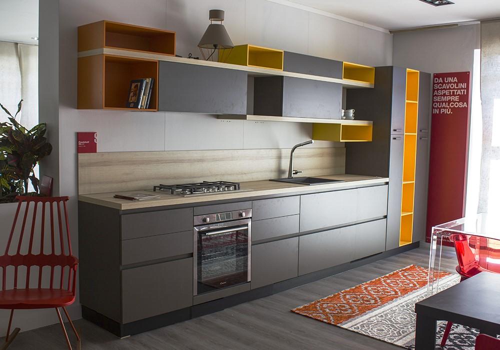 Cucina Componibile Scavolini Modello FOODSHELF Mobili Urbani